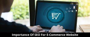 Importance Of SEO For E-Commerce Website